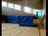 3 Step Wallflip At School