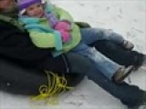 Me And Sophie..snow Tubing