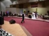 Breakdancing In Ballroom