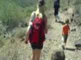Hiking 1 Mile In 110 Degree