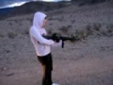 Little Girl Big Gun!!! M-16