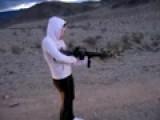 Little Girl Big Gun!!! M-16