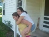 Me Giving Yessi A Piggyback