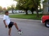 Me Kicking A Junk Truck