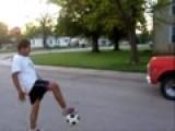 Me Kicking A Junk Truck