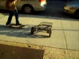 OLLIE OVER A SHOPPING CART