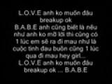 Sad Love With The Lyrics