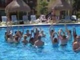 The Boys And Water Aerobics