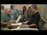Man Receives Free Prosthetic Legs