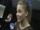 13Raw: Shawn Johnson Talks Visa Championships