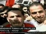 Siria Denuncia Conspiraci&oacute N Apoyada Por Israel Y EE.UU