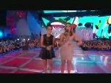Miley Cyrus Presenting With Shenae Grimes - MMVA&#039 S 2010