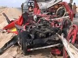 32 KILLED IN ROAD ACCIDENTS OF EGYPT