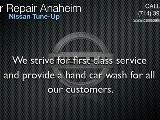 Nissan Tune Up Anaheim - Nissan Lube Service Anaheim