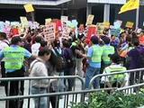 Hong Kong Protest High Court Judgment On Residency