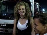 90210 Actress AnnaLynne McCord Speaks To Fans Outside Avalon Nightclub In LA