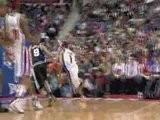 Allen Iverson Beautiful Reverse Lay-Up Vs. Spurs