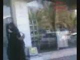 Arab Niqabis Punching Man On The Street