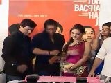 Ajay,Imran Hashmi&Entire Cast At &#039 Dil To Bacha Hai Ji&#039 Music Launch