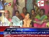 A Girl Umarani Blamed By Lover - Sitted On Silent Dharna @ Warangal Dist
