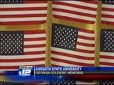 ASU Honors Soldiers By Hosting Memorial Quilt Display