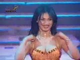 An Arabian Lady Dancing In Arabian Tune. Arab Music. Lovely Arabian Dance