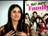 About Kajol And The Movie - We Are Family - Making Part I