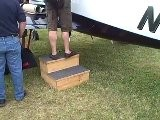 A Safe Home Made Step Stool For Aircraft