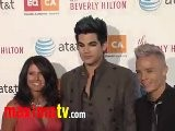 Adam Lambert At 2011 Los Angeles Equality Awards Red Carpet Arrivals