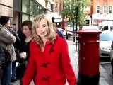 Amanda Holden Shows Off Baby Bump