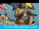 A Pretty Nudist Woman
