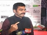 Aashutosh Rana In Indian Kurta At Premier Of Gandhi To Hitler
