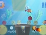 AquaDrop 1.1 For IOS - Use Bubble Jets To Move Balls In Unde