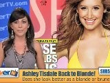 Ashley Tisdale Goes Blonde!