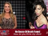 Amy Winehouse Autopsy Inconclusive