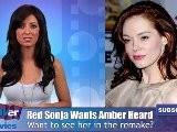 Amber Heard The Next Red Sonja ?