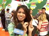 Ashley Argota 2011 Kids&#039 Choice Awards Interview