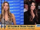 Ashley Tisdale & Vanessa Hudgens ' Pirates 4' Premiere Fashion Recap