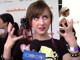 Allisyn Ashley Arm Talks &#039 So Random&#039 At Lollipop Theater Network Event