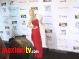 Amber Heard TOO HOT IN RED At The Rum Diary Premiere Arrivals