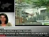 Brasil: Polic&iacute A Militar Tom&oacute Favelas Del Complexo Do Alema