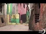 Brasile, A Rio Una Funivia Sopra La Distesa Di Favelas