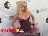 Bridget Marquardt & Bridget By Roma Models At Rock The Mansion 2011 Arrivals