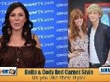 Bella Thorne & Cody Simpson Mars Needs Moms Premiere Fashion Recap