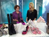 Boots, Ballet Flats And Breast Cancer Awareness
