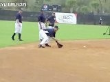 Baseball Derek Jeter Fielding Mechanics