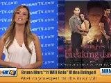 Breaking Dawn&#039 S Bruno Mars Music Video Delayed