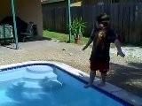 BOY WALKS ON WATER
