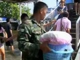 Burmese Stranded In Thai Floods