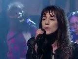 Charlotte Gainsbourg - Trick Pony Live On Letterman Show